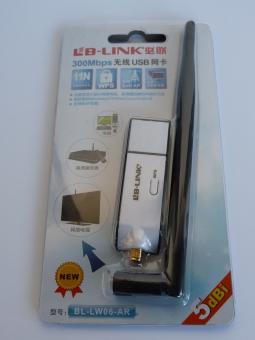 Wlan-Adapter USB für Coolstream CST 5 dBi Antenne bis zu 300 Mbit