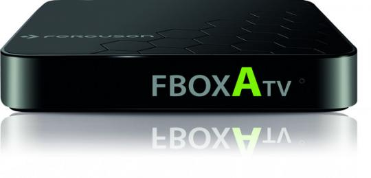 Fbox ATV 4K, Betriebssystem Dual OS Android for TV 7.0 und Linux Debian, 2 x Fernbedienung