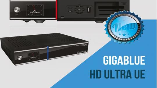 Gigablue UHD UE 4K Open ATV 6.3
