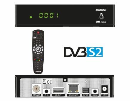 Edision OS Nino Linux 1xSat-Tuner