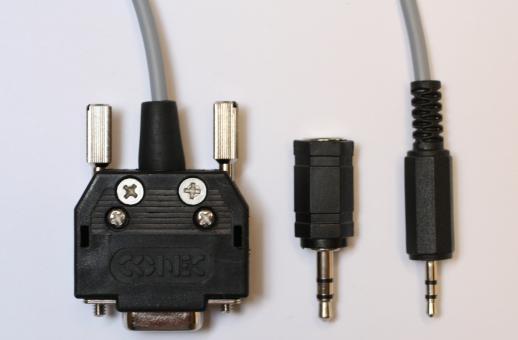 Datenkabel RS232 auf Klinke 2,5mm/3-polig