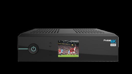 Protek 4K UHD HEVC265 2160p E2 Linux  2x Sat-Tuner