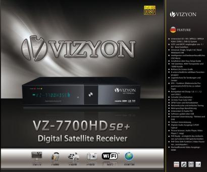 Vizyon 7700 HD se Plus